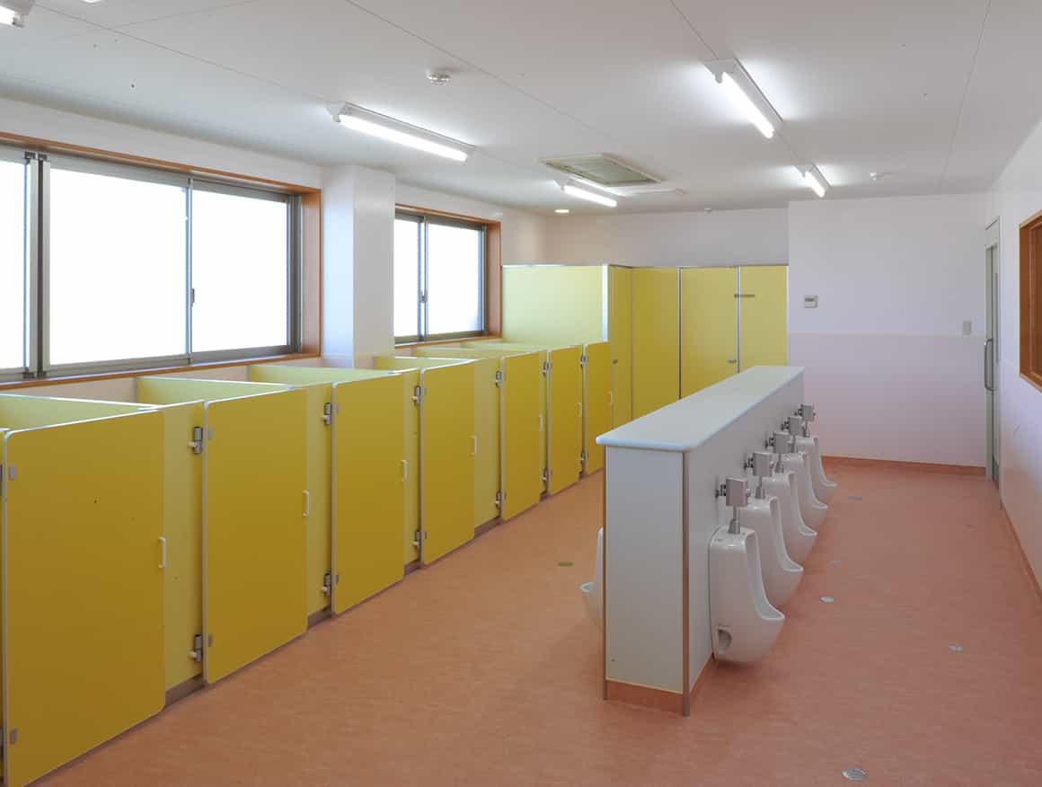 松本市堀米保育園トイレ