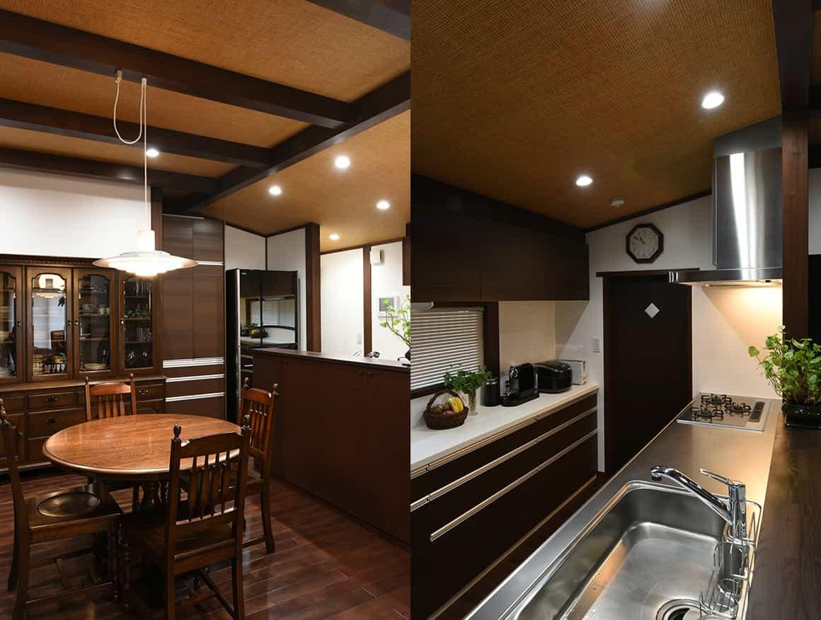 神奈川県K様邸台所と食堂