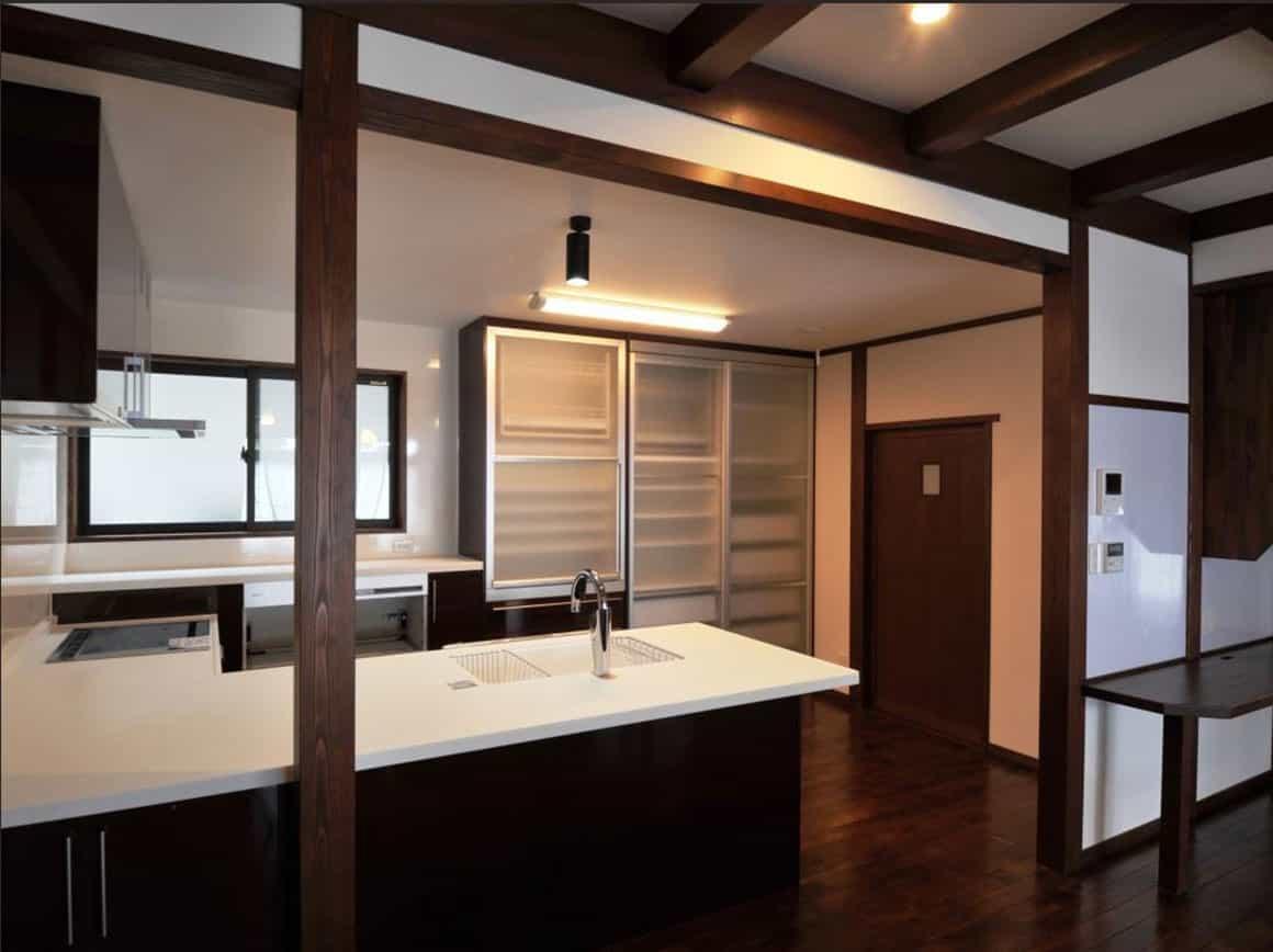 松本市S様邸キッチン