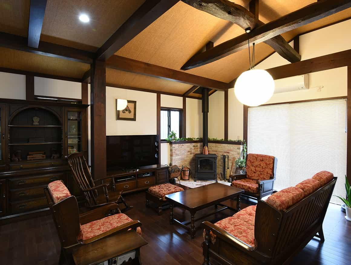 神奈川県K様邸リビング