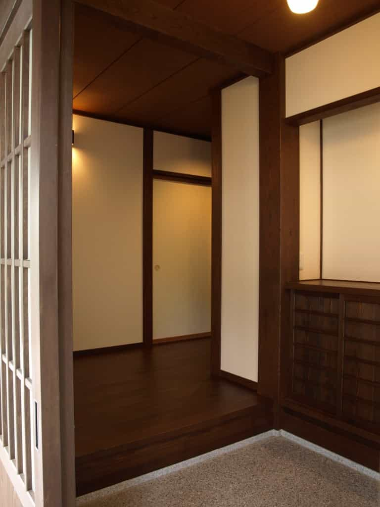 上田市S様邸玄関