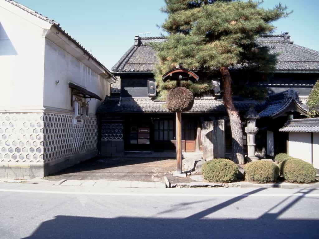 松本市中町蔵シック館外観移築前