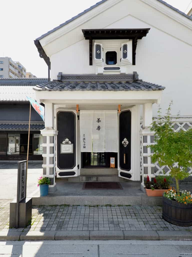 松本市中町蔵シック館カフェ外観