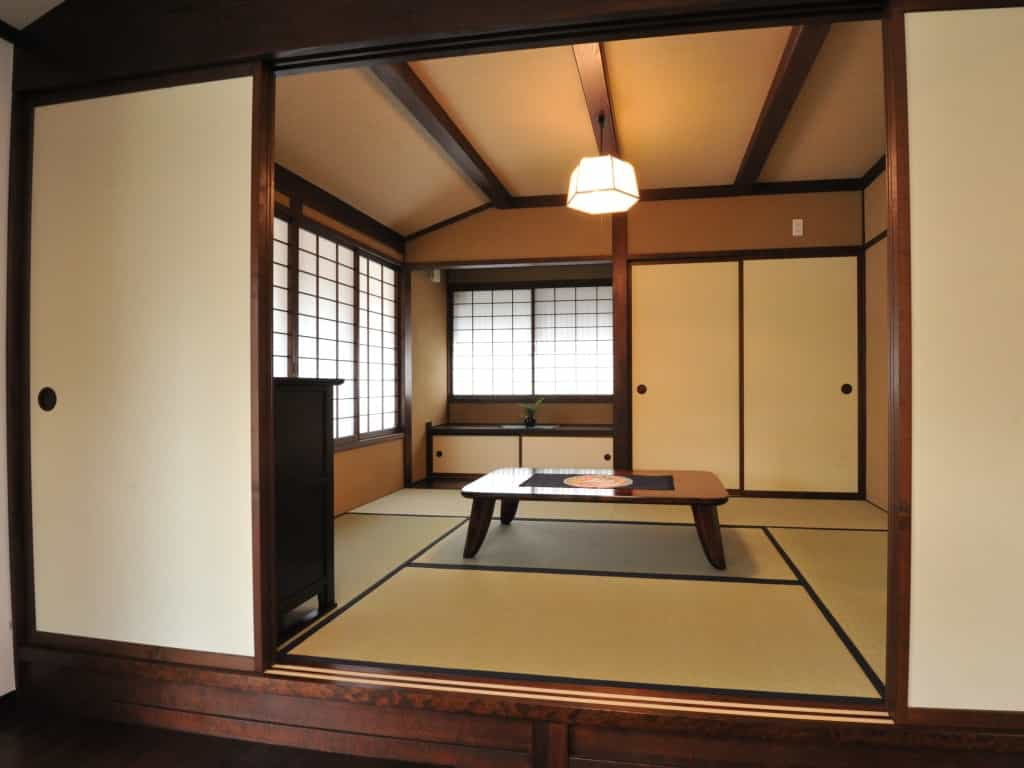 松本市K様邸和室