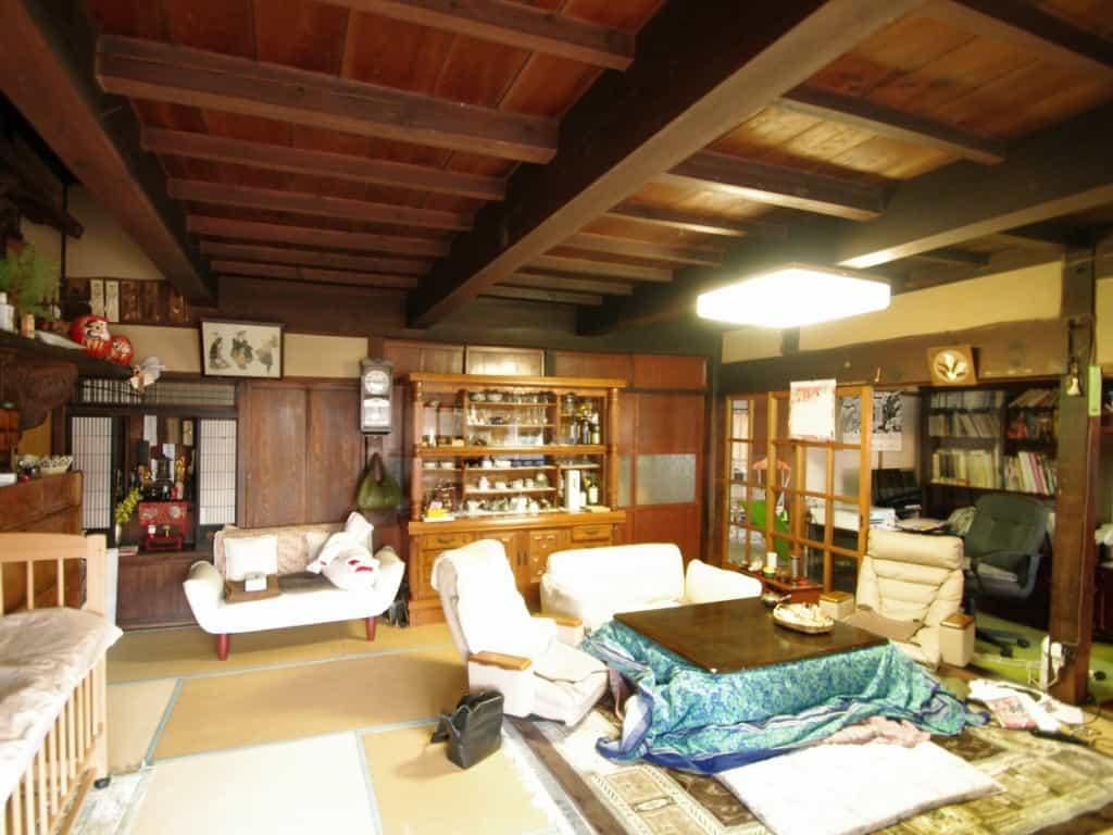 長野県N様邸再生前居間1