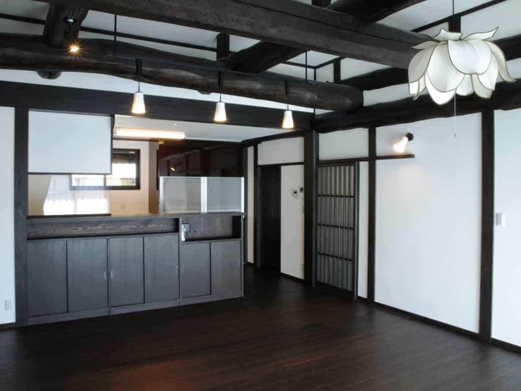 長野県N様邸ダイニングキッチン