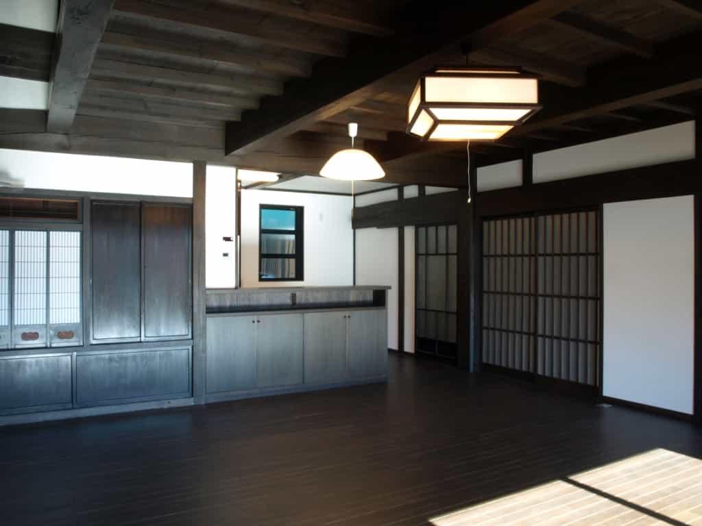 長野県N様邸再生後居間1