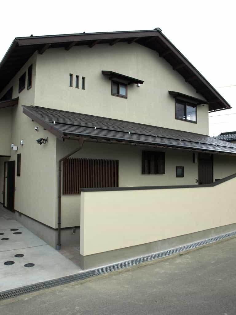 松本市K様邸外観