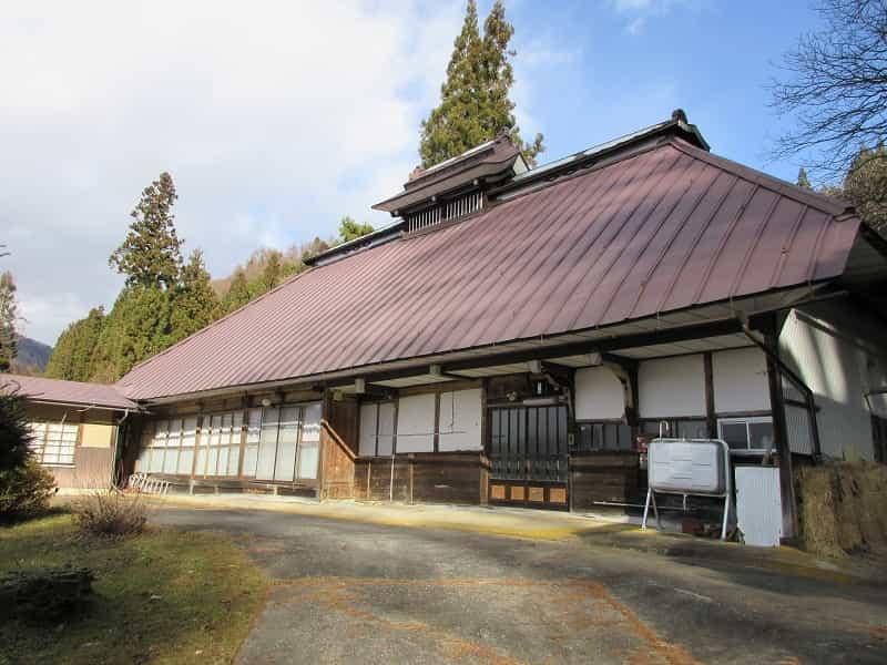 眺めの良い古民家小川村外観
