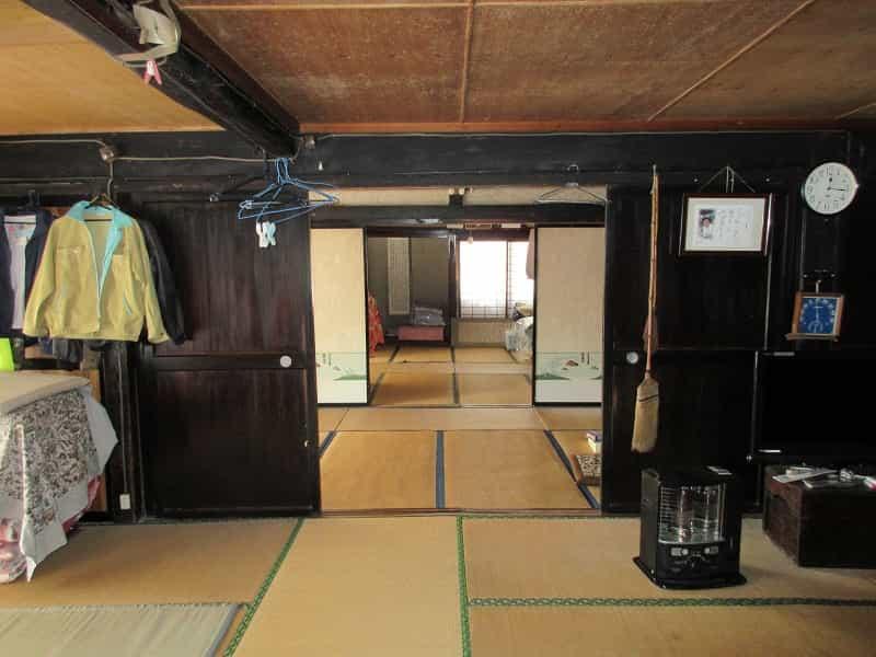 眺めの良い古民家小川村内観